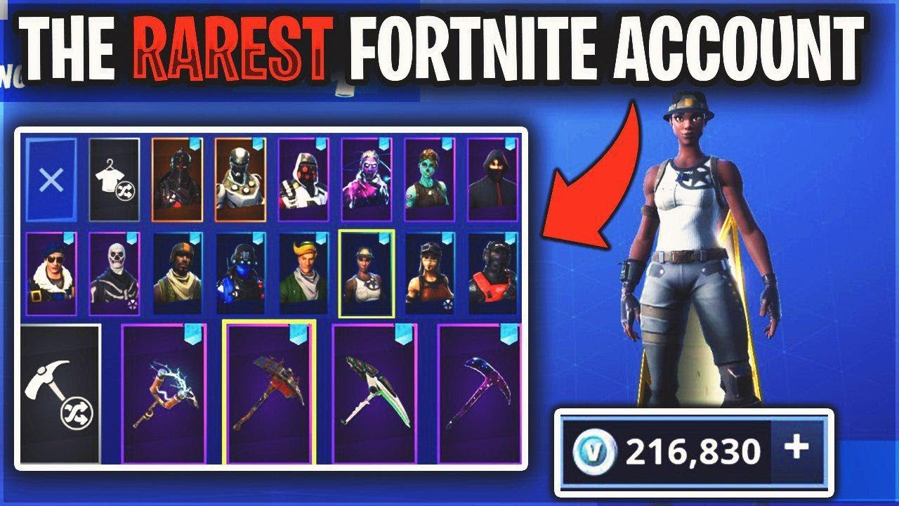This Fortnite Account Has Every Rare Skin Even Recon Expert 200 000 Vbucks