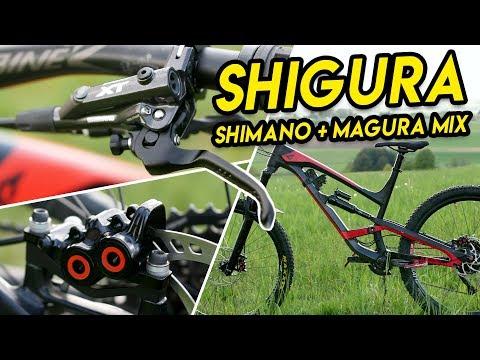 Shigura Brake Upgrade | Shimano XT + Magura MT5/7 - Bike Build MTB