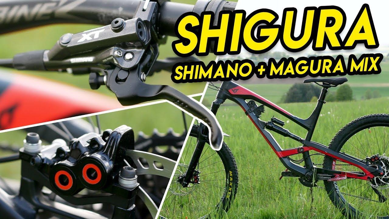 Shigura Brake Upgrade Shimano Xt Magura Mt5 7 Bike Build Mtb