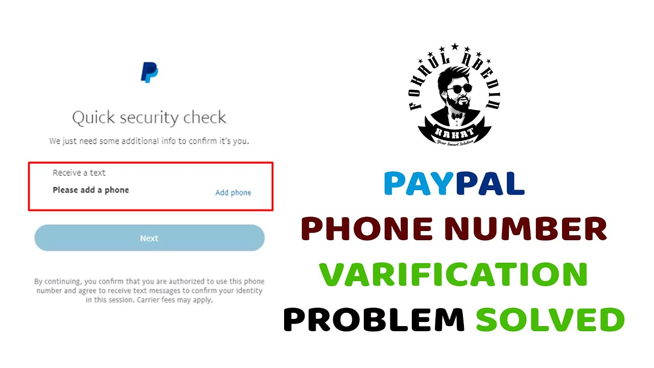 Download PayPal number verification bypass 2021 - PayPal Mobile Number Problem Solved