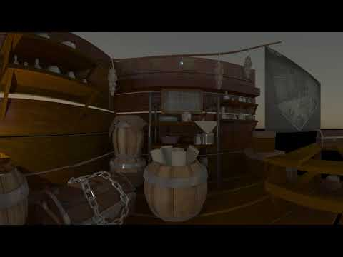 Pirate Room - 360 Environment Test