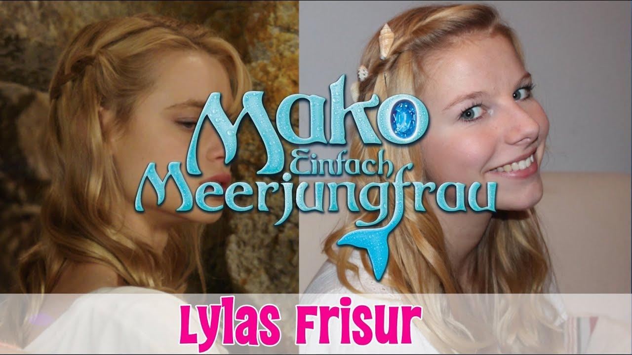 Wasserfallzopf Mit Muscheln Mako Einfach Meerjungfrau Beauty Special
