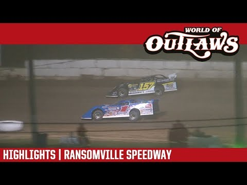 World of Outlaws Craftsman Late Models Ransomville Speedway June 15, 2018 | HIGHLIGHTS