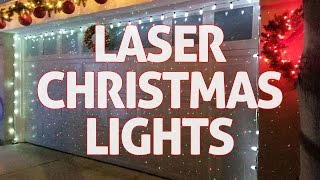 Laser Christmas Lights! REVIEW + GIVEAWAY