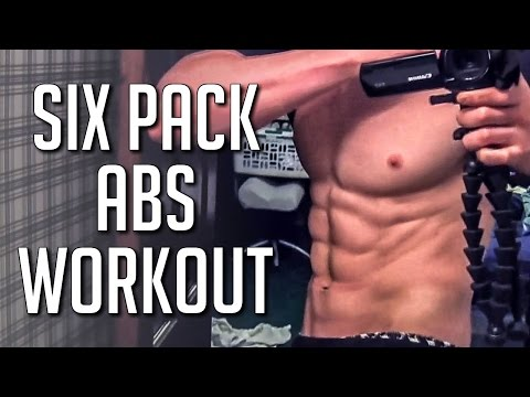 SHREDDED SIX PACK ABS WORKOUT FOR RESULTS
