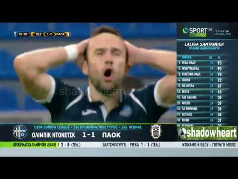 Ολίμπικ Ντονέτσκ - ΠΑΟΚ 1-1 |Στιγμιότυπα| 3ος προκριματικός γύρος Europa League