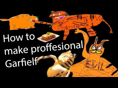how to make professional garfielf