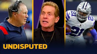 Skip Bayless predicts whether his Cowboys can reach 200 rushing yards vs. Pats I NFL I UNDISPUTED