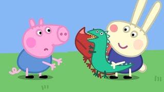 Мультфильмы Серия - Свинка Пеппа на русском все серии подряд -  Друг Джорджа - Мультики