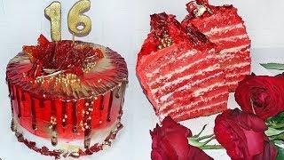 Красный Бархат Торт Нереально Вкусный Рецепт! Сочный и Нежный!