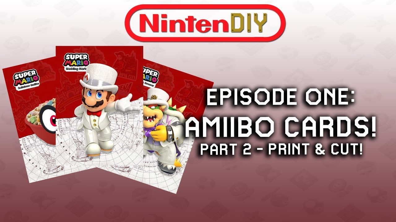picture relating to Printable Amiibo Cards identify NINTENDIY - Episode One particular: Permits Create Amiibo Playing cards! (Portion 2)