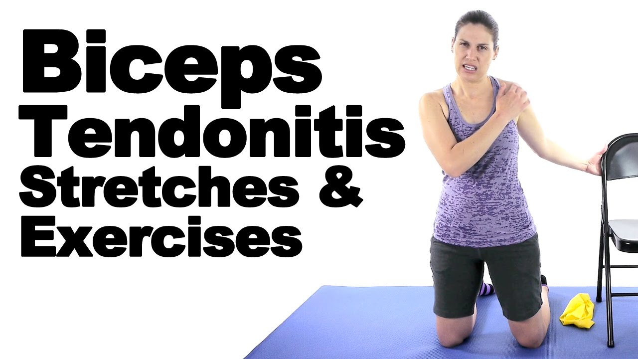 Biceps Tendonitis Stretches Exercises Ask Doctor Jo Youtube