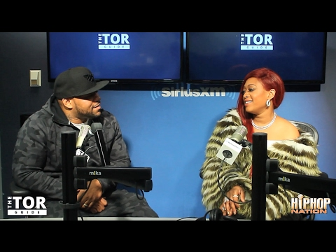 Trina Visits Torae On Hip-Hop Nation #TheTorGuide