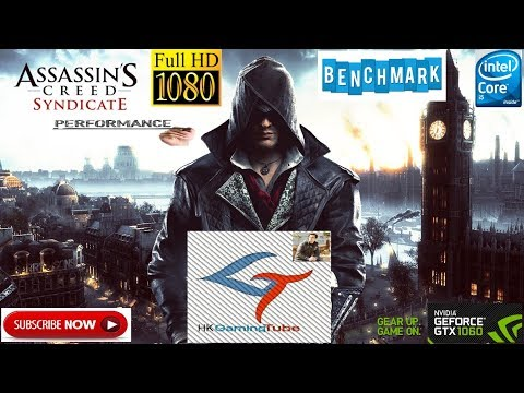 Assassin's Creed Syndicate play ultra setting on 1060 g1 gaming 6gb oc