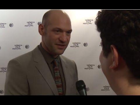 Corey Stoll interview for Glass Chin at Tribeca Film Festival premiere #PFM
