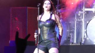 """Nightwish performing """"Weak Fantasy"""" from the album """"Endless Forms M..."""