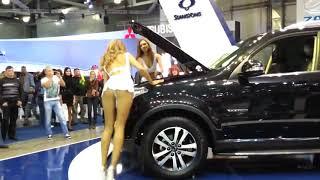 Авто приколы на дорогах Youtube девушки  Улетное видео