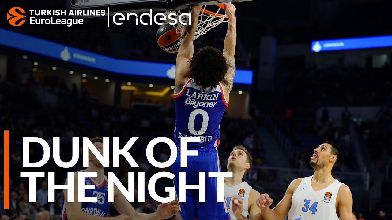 THY EuroLeague'de gecenin smacı: Micic & Larkin, Anadolu Efes Videosu