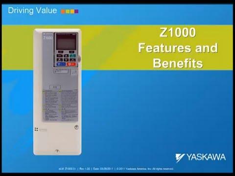 Starting up a Yaskawa Z1000 Bypass YouTube