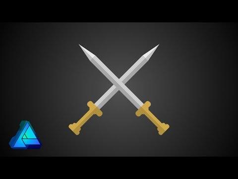 How to Make a Sword in Affinity Designer