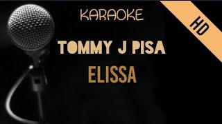 Tommy J Pisa - Elisa   HD Karaoke