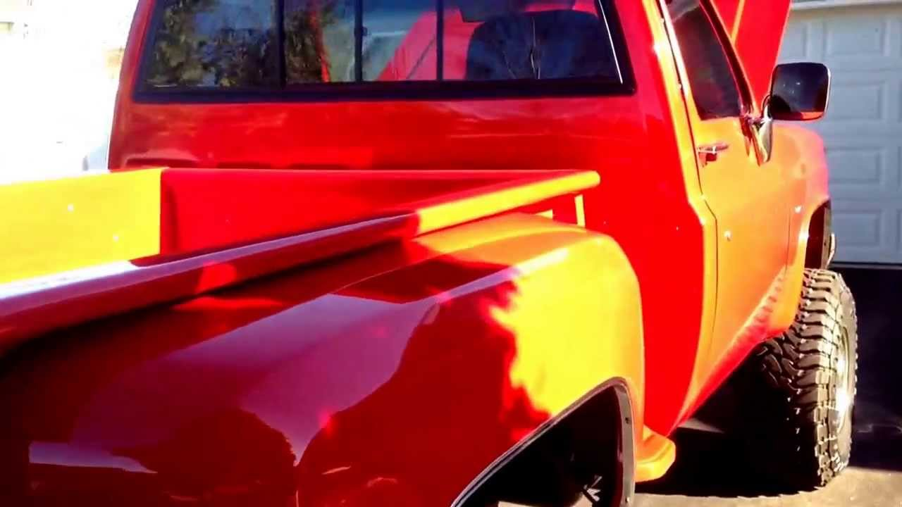 1981 chevy stepside truck [ 1280 x 720 Pixel ]
