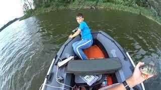Случай на рыбалке Как сын Ipad утопил