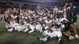 Mandarin Mustangs celebrating state title