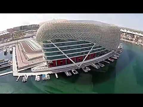 Yas Island, Abu Dhabi on DJI Phatom 2 Vision +