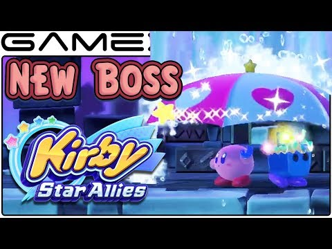 Kirby: Star Allies - New Boss Revealed in Japanese Ad's Gameplay