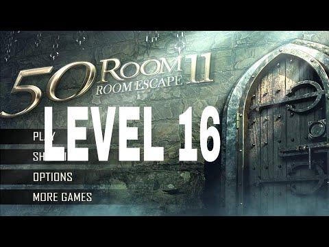50 Room Escape 11 Level 16 Walkthrough Youtube