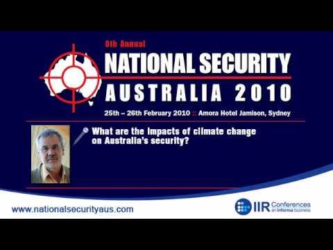 NSA 2010 - An interview with Professor Will Steffen