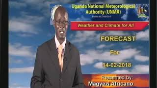 Weather Forecast for 14 02 2018