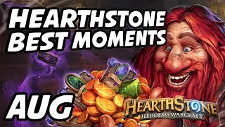 Hearthstone Best Moments | August