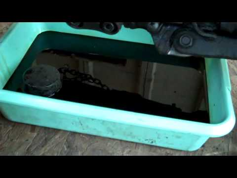 Delboy's Garage, How To, Japanese bike engine oil and filter change