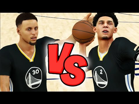 Can Lonzo Ball Hit A Full Court Shot Before Steph Curry? NBA 2K17 Challenge