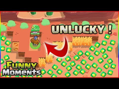 THE MOST UNLUCKY PLAYER! | BRAWL STARS Funny Moments, Bugs & Glitches & Epic Fails Montage! #1