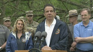 Gov. Cuomo Provides Update On Storm Response