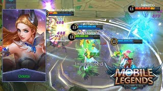 NEW HERO MAGE ODETTE IMBA Mobile Legends Indonesia