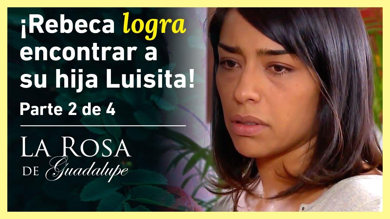 La Rosa de Guadalupe 2/4: ¡Luisita rechaza a su mamá! | Una moneda de amor