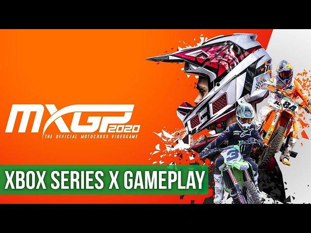MXGP 2020 - Gameplay (Xbox Series X) HD 60FPS