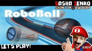 RoboBall Gameplay (Chin & Mouse Only)