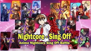 ₢Nightcore - Sing Off (Switching Vocals) - (Conor Maynard) 1k Subscribers Special