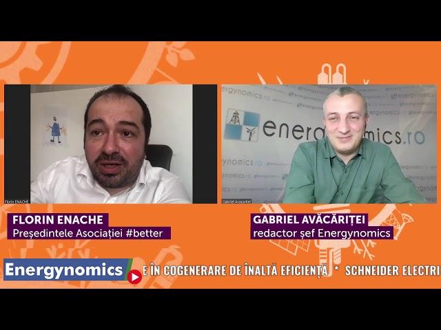 EnergynomicsTalks cu Florin Enache, președintele Asociației #better