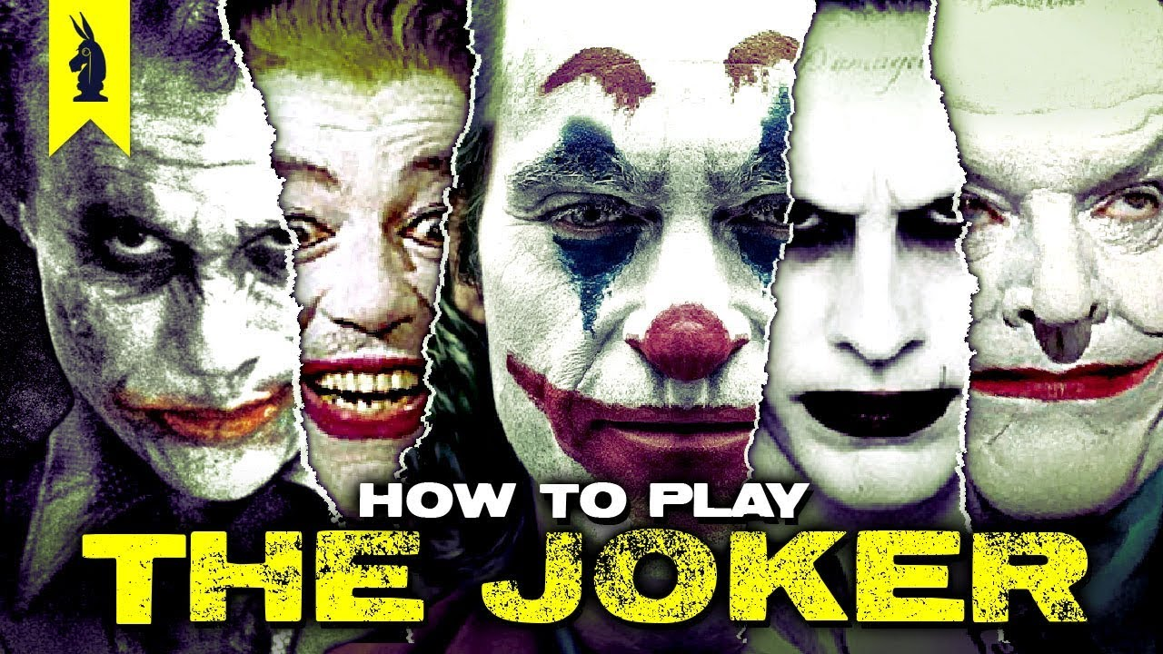 How to Portray The Joker – Wisecrack Edition