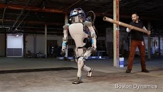 Atlas the Humanoid Robot in Action