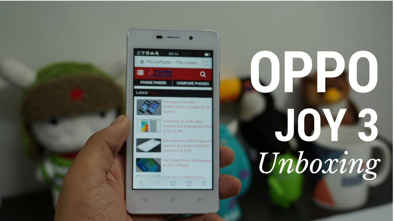 OPPO Joy 3 Unboxing & Hands-On