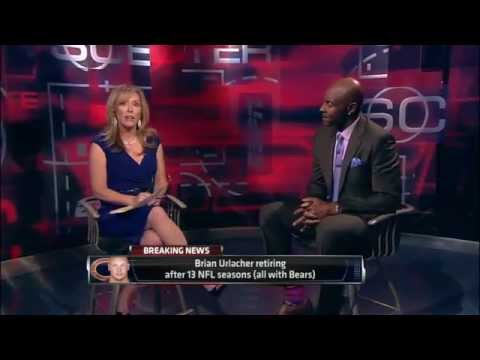Brian Urlacher Retires - SportsCenter (05-22-2013)