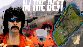 Dr DisRespect - Best Solo Player in Battlegrounds (Flapping Gums. Massive Car Flip, High Kill Games)