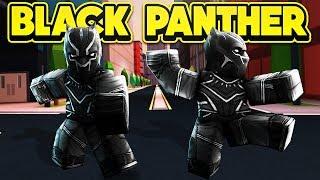 THE BLACK PANTHER IN JAILBREAK! (ROBLOX Jailbreak)